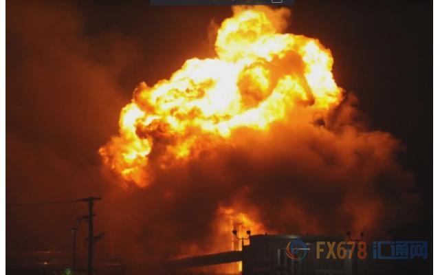 """飓风""""哈维""""灾情超乎想象:化工厂爆炸,炼油业停摆"""