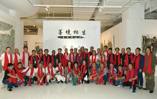 墨境相生——袁武师生画展在北京山水美术馆隆重开幕