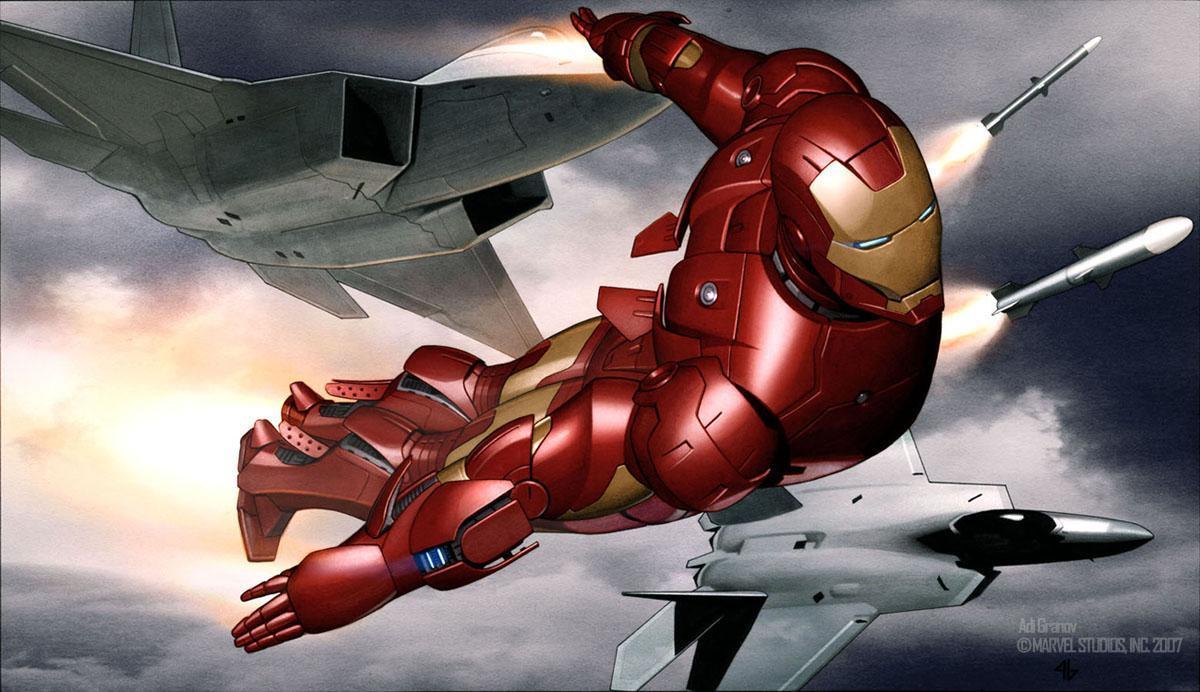钢铁侠马克1-3号设计图赏,谁不想拥有一件?