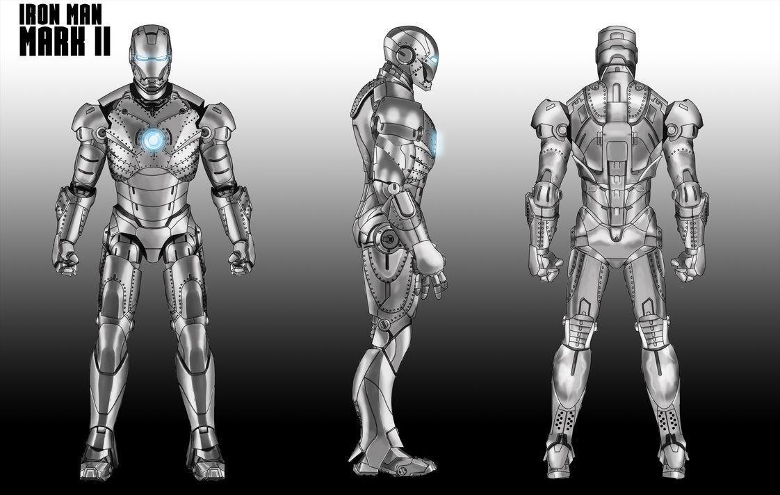钢铁侠马克1 3号设计图赏,谁不想拥有一件