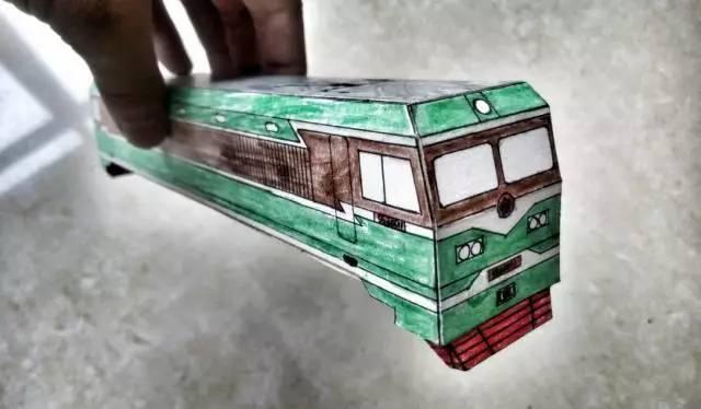 纸盒手工制作窗户