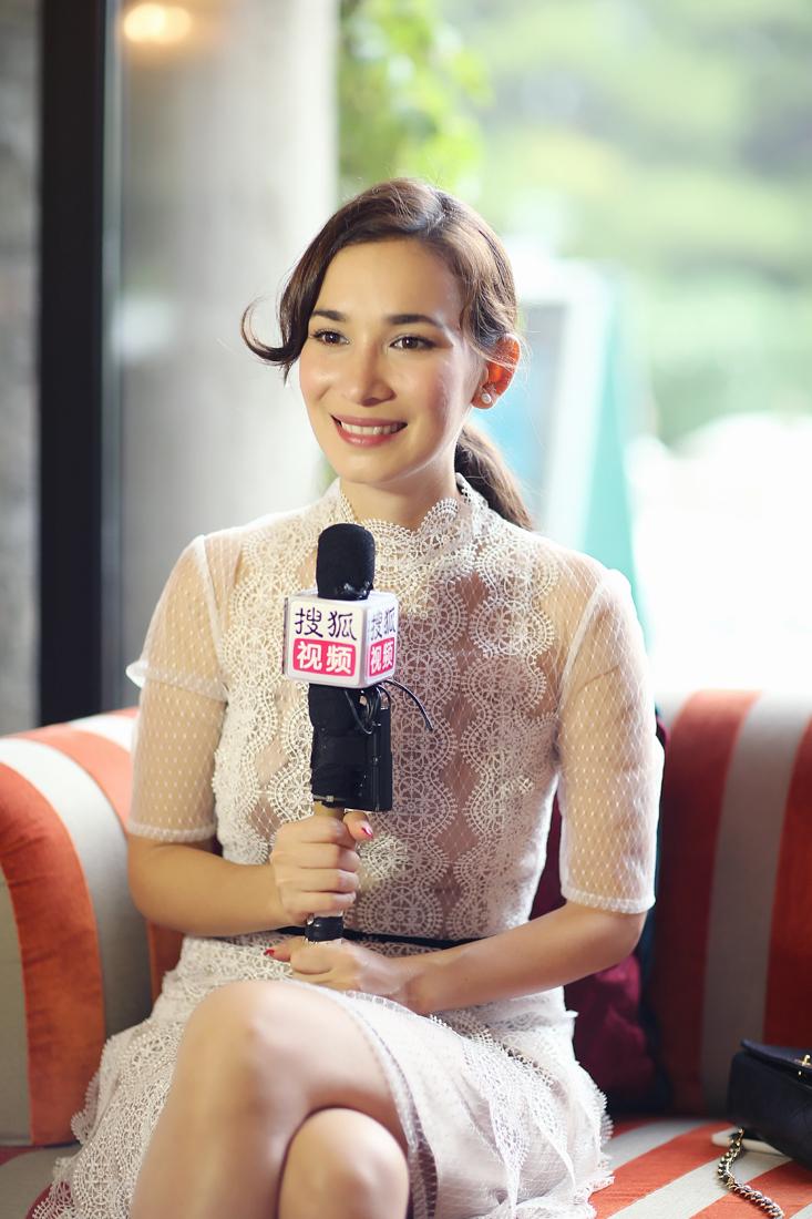 专访卢靖姗:母亲生前看到《战狼2》片段令她欣慰