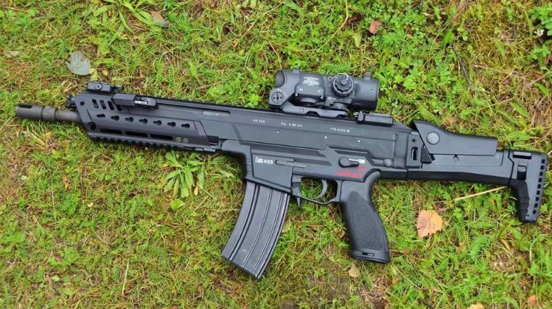 愹?.hK??B#??G?????_这支步枪融合了hk416和g36步枪的优点 模块化设计性能