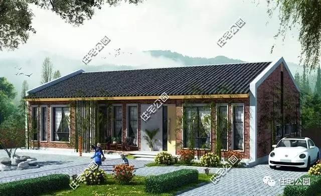 平房设计图及小院