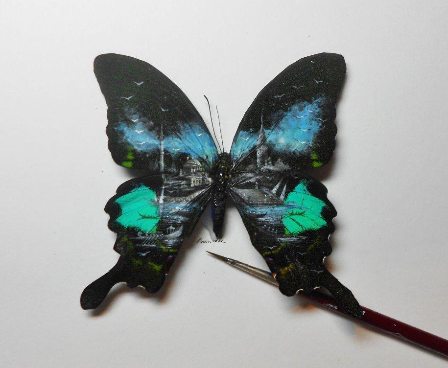 十三件不可思议的超微美术作品