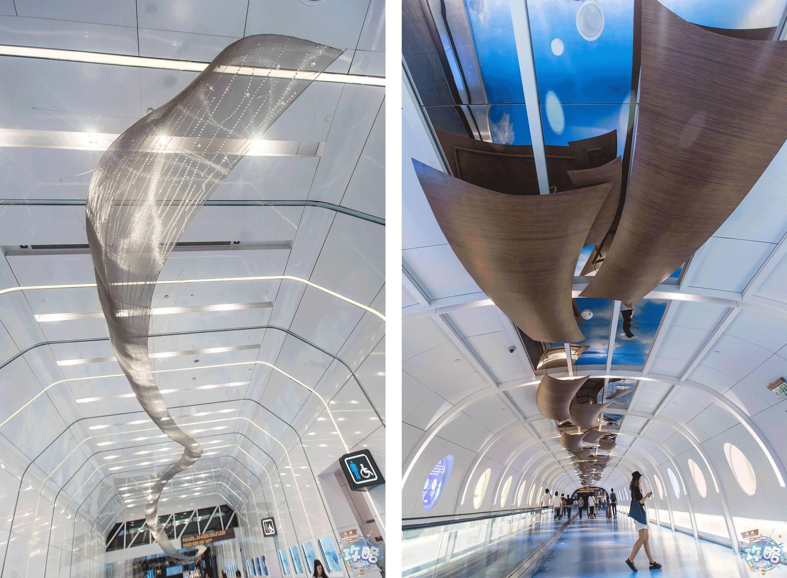 """全国机场首个大型""""丝路主题""""公共艺术空间,又被广州独家占有!图片"""