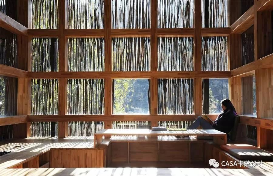 这才叫图书馆设计,你那只能叫资料室