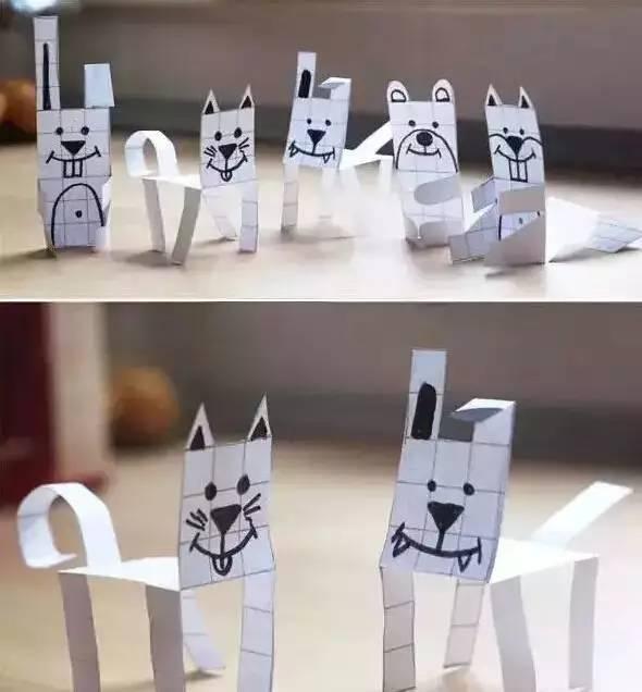 图形手工制作恐龙