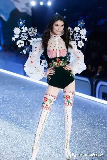 卫视模特秀场_时尚|维密秀场上的中国模特