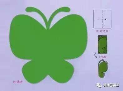 简单易学的幼儿园剪纸手工制作,幼师必看!