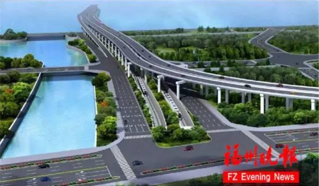 道庆洲大桥效果图1