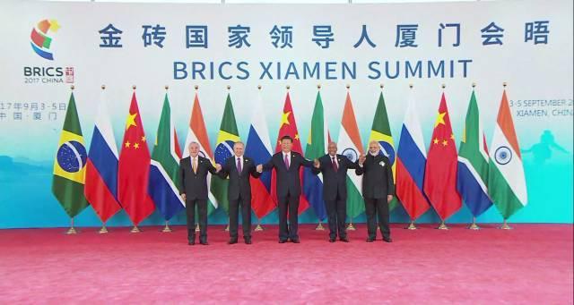 金砖国家领导人厦门会晤 全家福 来了 还有这些国家领导人也来了图片
