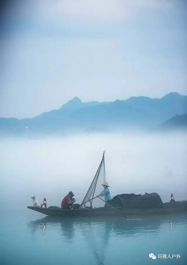 【九月玩水自驾】从千岛湖到新安江,游芹川古村,观下涯晨雾,皮划艇