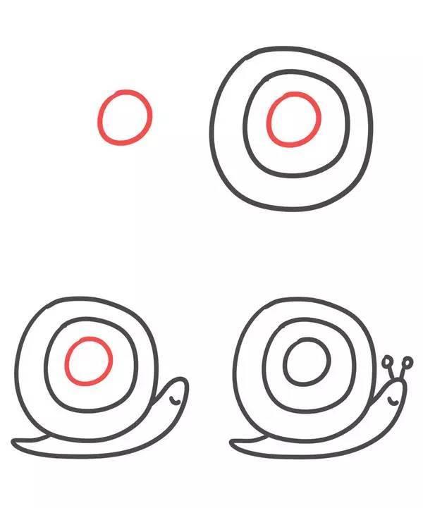 第二波26个英文字母简笔画,把字母画成小动物,又萌又好学