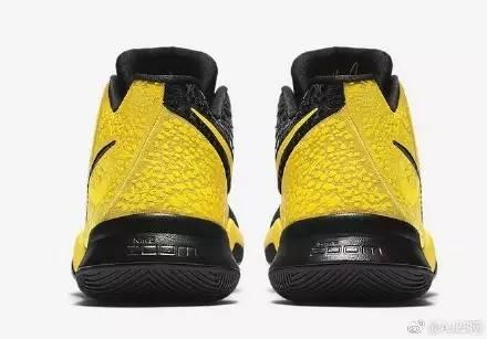 一半科比一半欧文,特别配色Nike Kyrie 3 Mamb