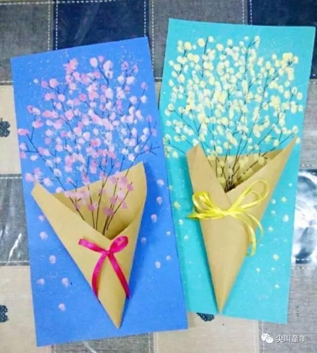 "diy | 30 种教师节贺卡和小礼物,让娃送出""心""创意!图片"