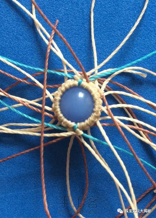 【编织】蜡线编织古典手链教程