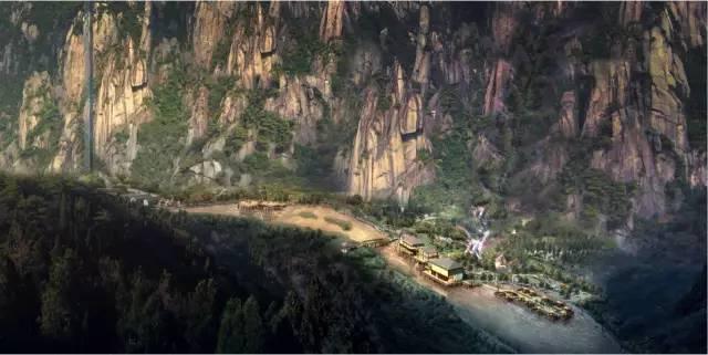 对村庄进行整体规划, 将村庄打造成一个集民宿,美食,有机农业为一体图片