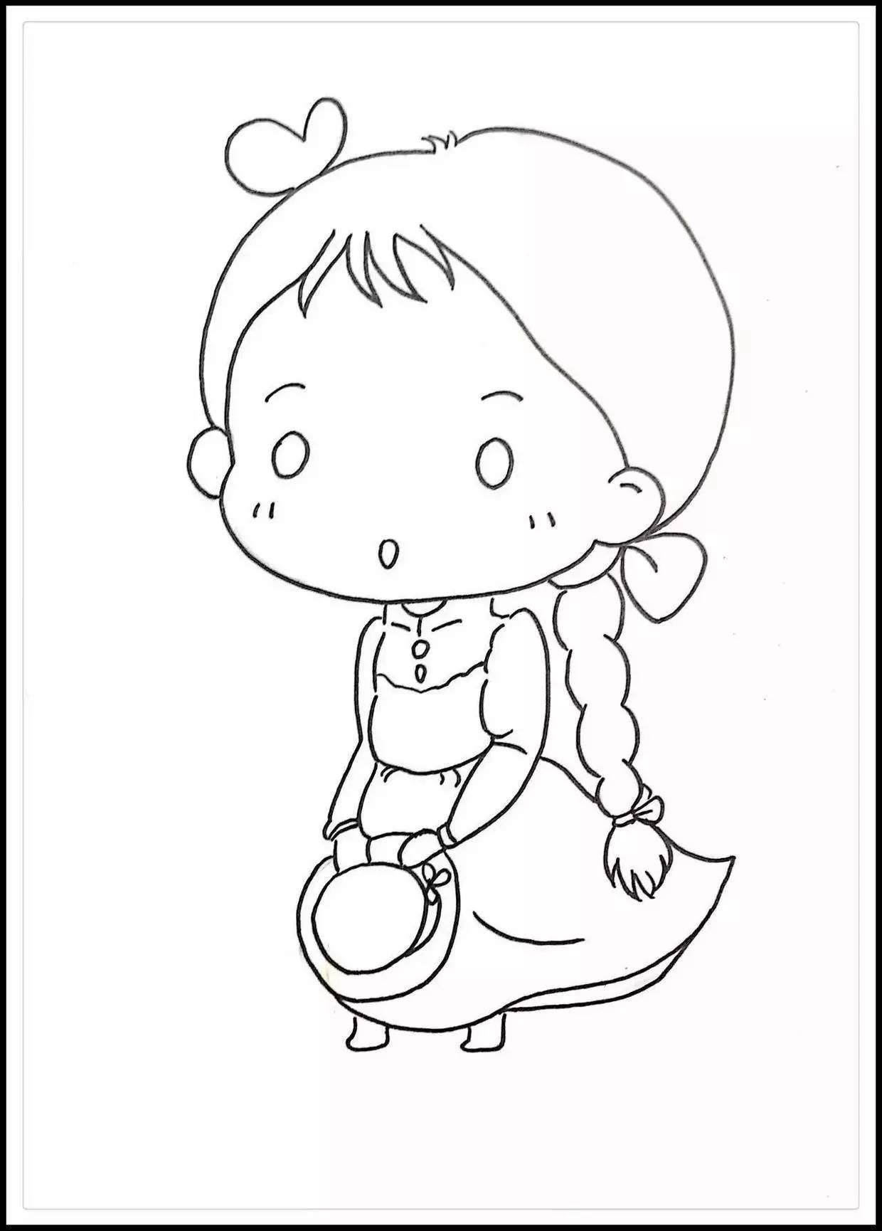 宫崎骏王国 动漫人物q版苏菲卡通简笔画