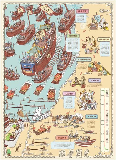 《手绘中国地理地图——中国》 则通过区域划分,简洁明了地描述了