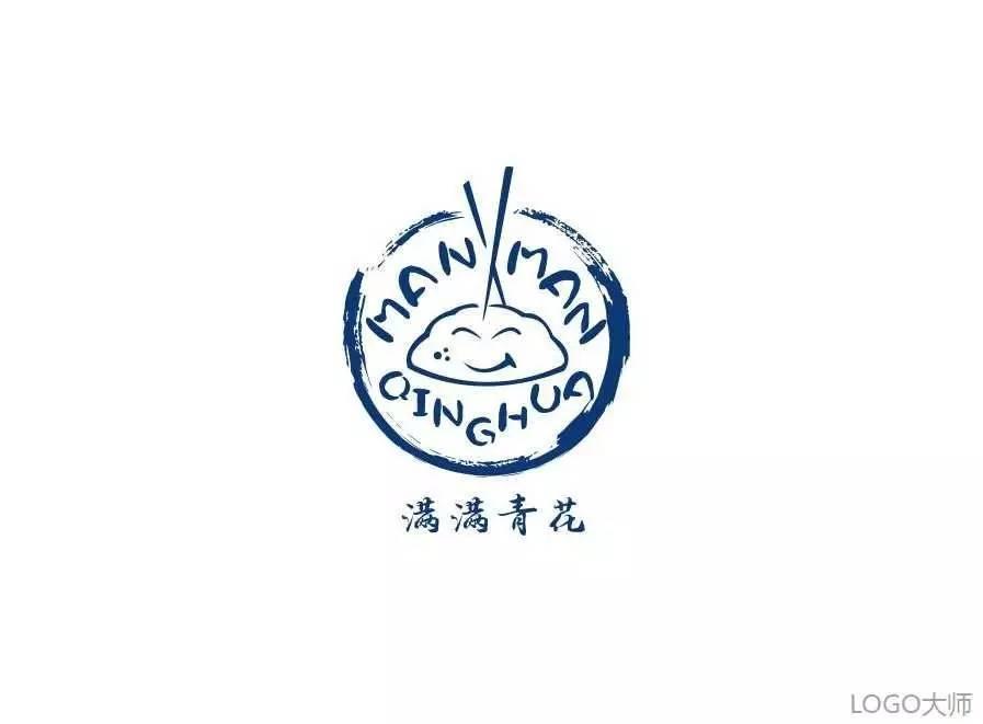 饺子品牌logo设计合集-玄郎vi设计