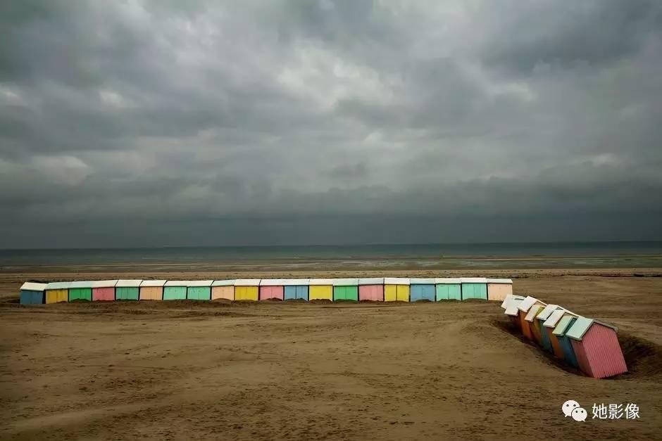 法国. nord-pas-de-calais地区. 贝尔克海滩. 2007年