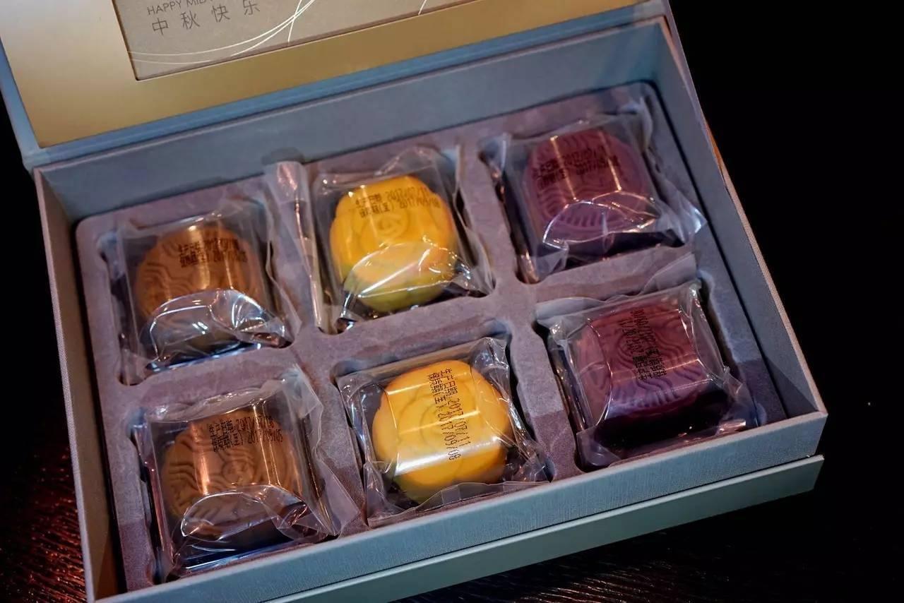 星巴克星情月饼礼盒   328元/盒   6枚图片