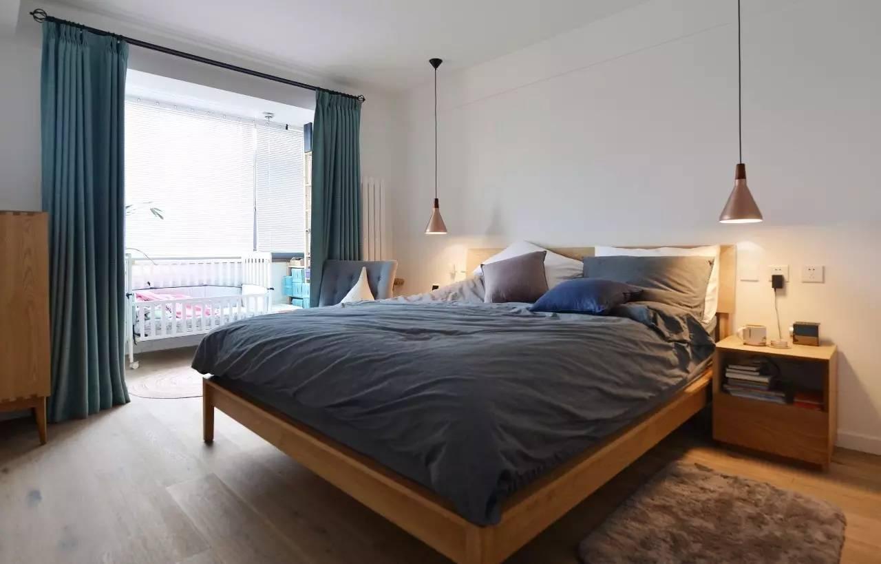 卧室装修效果图灰蓝