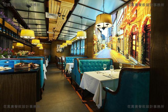 美到爆的水电自助名片,你也一定忍不住!--花万餐厅海鲜设计图片6图片
