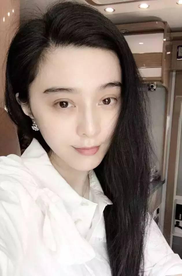 看完范冰冰的素颜自拍照,终于知道李晨为什么喜欢她了