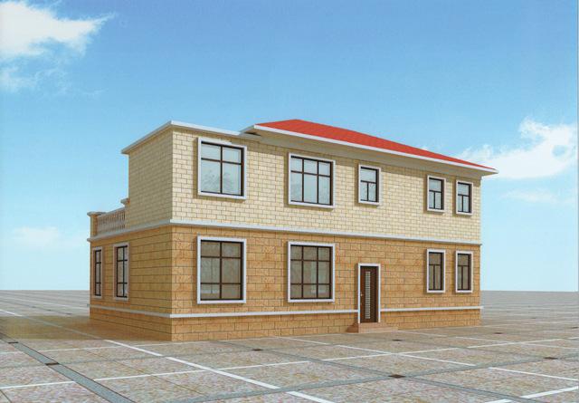 120平新二层状况自建房屋设计图-这样的好行业当下建筑设计农村户型图片