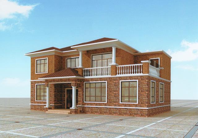 120平新农村二层自建房屋设计图-这样的好户型水不动心?