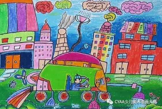 指导老师:杨桂琼 j788306005 韦钧译 5岁 男 《开往海洋的和谐号》图片