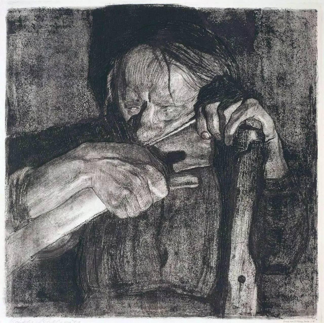 鲁迅称她为举世无双的女性艺术家,她以母爱之名,描绘出了如恶疾般的
