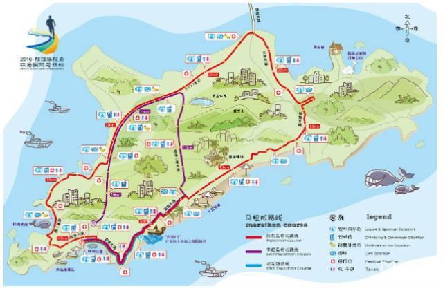 【扩散】快来参加哟!2017阳江海陵岛环岛马拉松报名9月8日启动!