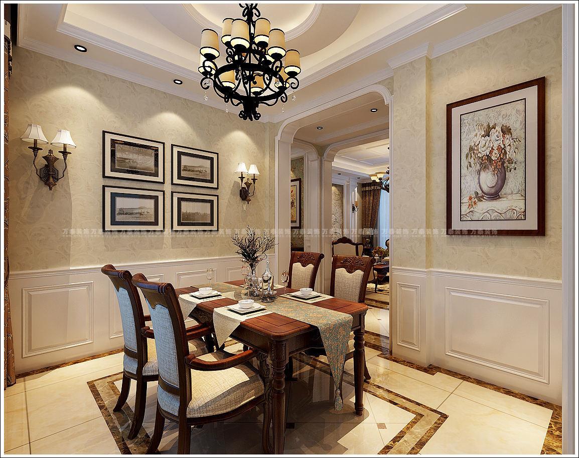济南碧桂园装修的美式风格效果图真好看啊,你觉得呢?图片