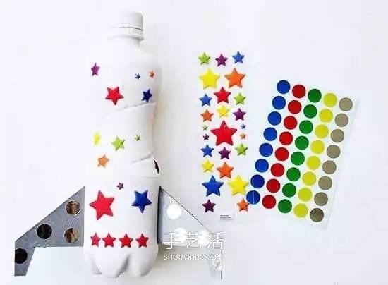 简单火箭模型手工制作 塑料瓶diy火箭的方法