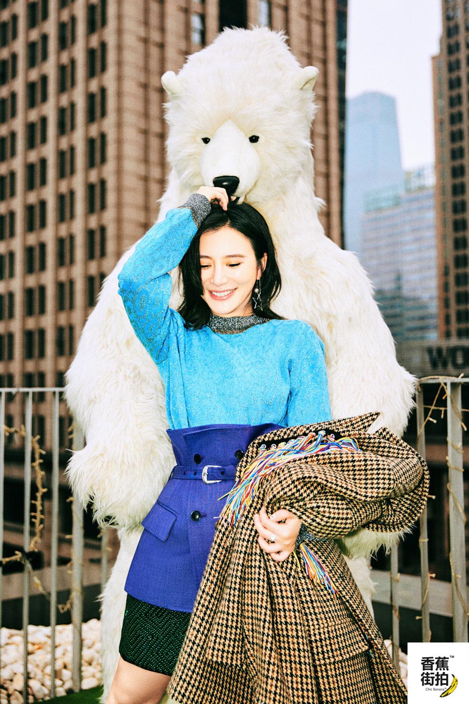 熊乃瑾最新秋日写真曝光 笑颜盎然活力满屏