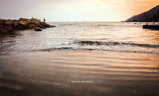 有一首诗,叫做《金厢滩》!