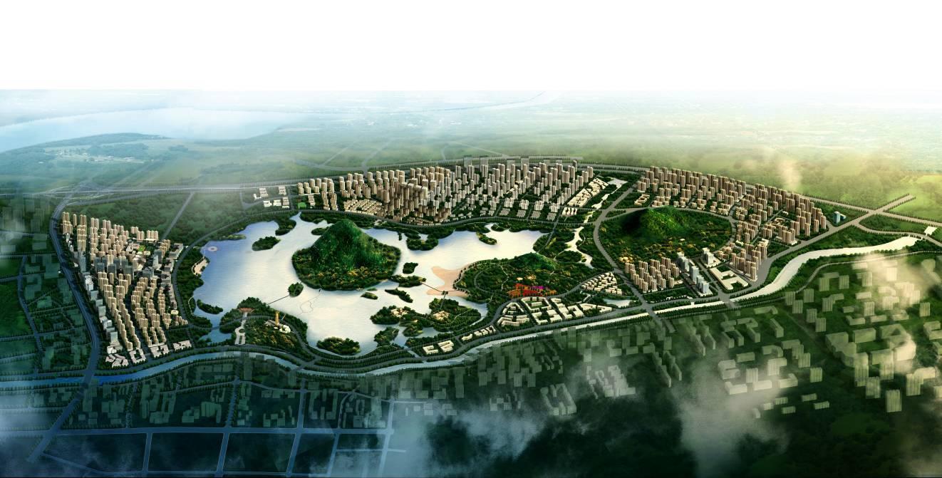 华山珑城平面图