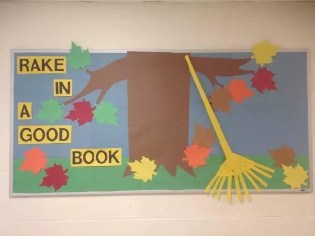 【环创】100种幼儿园秋季创意手工 主题环创 树叶粘贴画!