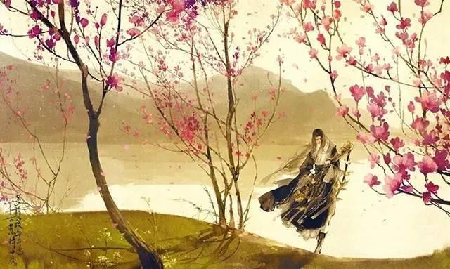 【唯美古风】杳杳,桃花开了