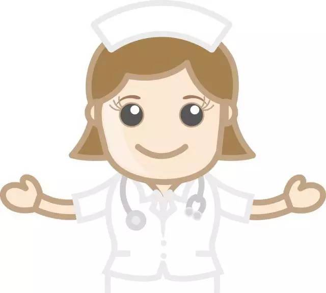 卡通护士简笔画 温柔善良的护士