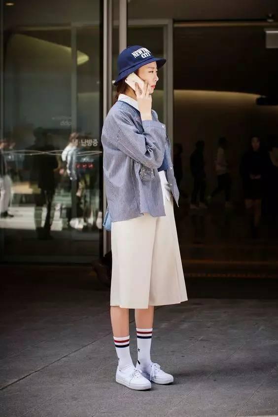街拍 | 首尔姑娘们就爱这四件单品来扮时髦