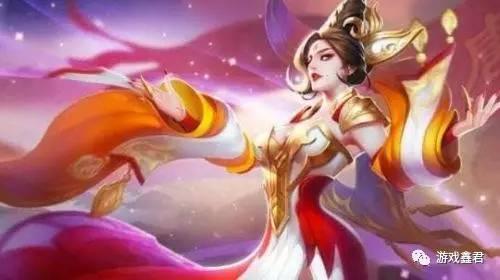 古代手绘美女武则天