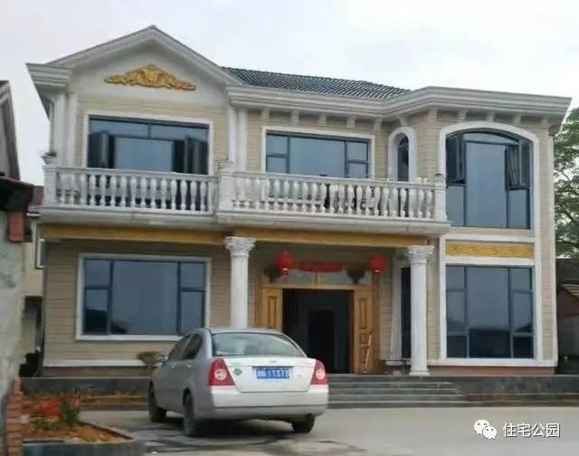 12x11米农村自建2层别墅,方正户型,经济实用!
