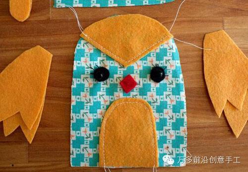 本期布艺手工制作教程——愤怒的小鸟布偶制作