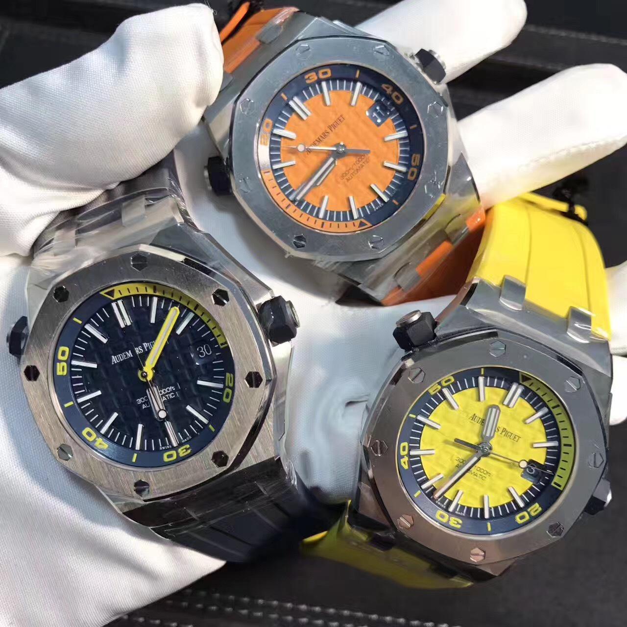 爱彼皇家橡树离岸型系列DIVER潜水腕表评测 常州哪里高价回收爱彼手表