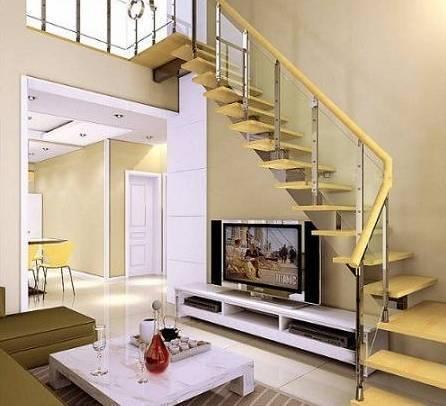 楼中楼装修的楼梯设计妙处