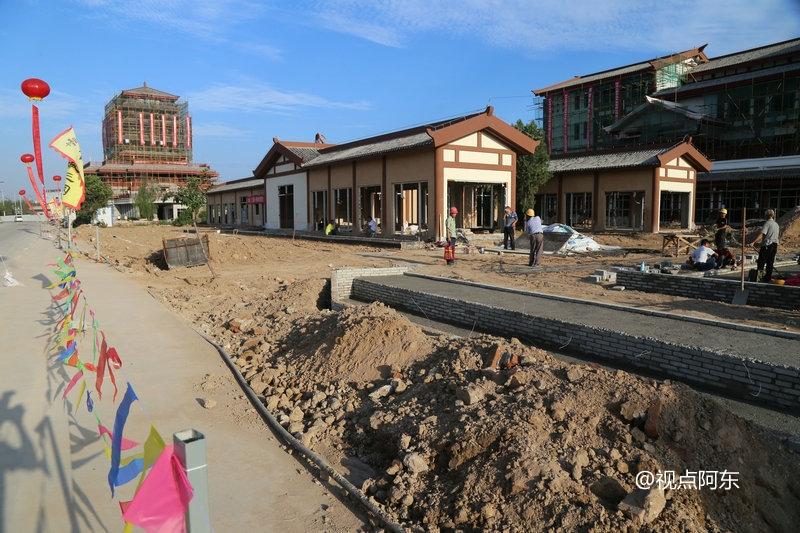 宝鸡三国小镇携手众商家共赢未来  以水为魂体验穿越风情 - 视点阿东 - 视点阿东